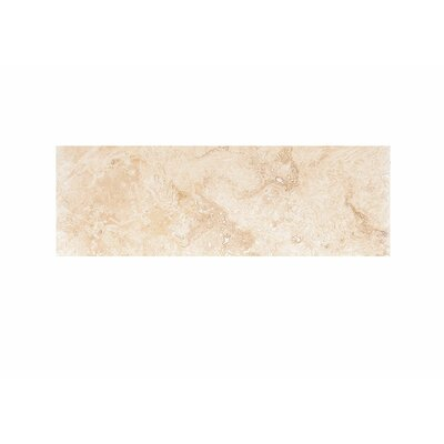 6 x 18 Travertine Field Tile in Beige