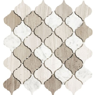 Santa Maria Studio Blend Stone Mosaic Tile Polished