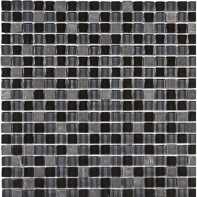 Redwood 0.625 x 0.625 Glass Mosaic Tile