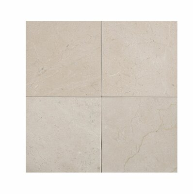 Crema Marfil 4 x 4 Marble Field Tile in Beige