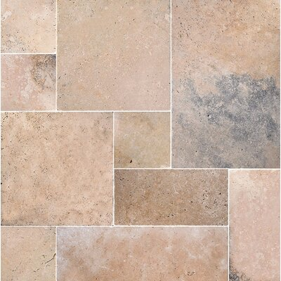 Anatolia Random Sized Travertine Field Tile in Beige