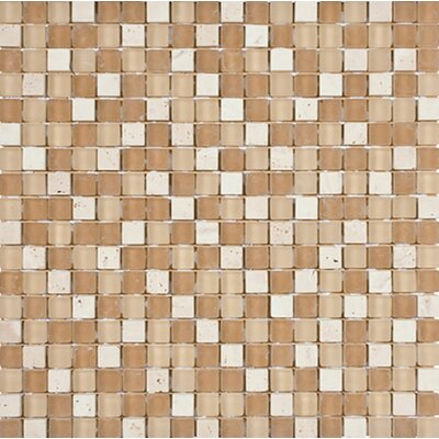 Palm Springs 0.625 x 0.625 Glass Mosaic Tile