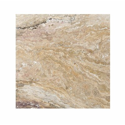 Laguna 18 x 18 Travertine Field Tile in Beige