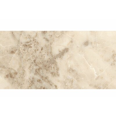 12 x 24 Marble Field Tile in Beige