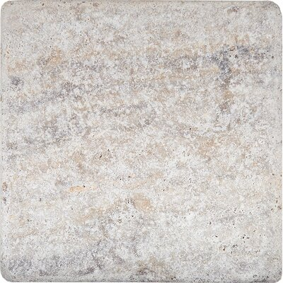 Tumbled 4 x 4 Stone Tile in Antico