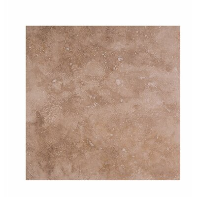 Odeon 18 x 18 Travertine Field Tile in Brown