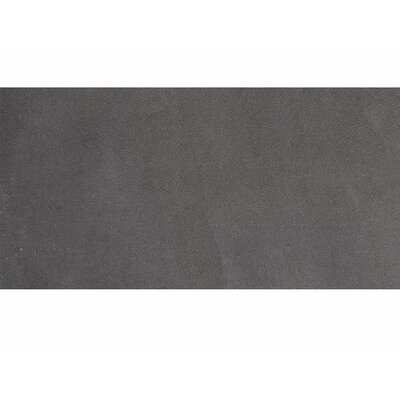 Lava 12 x 24 Basalt Field Tile in Black Honed