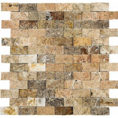Scabos Split Face 1 x 2 Stone Mosaic Tile