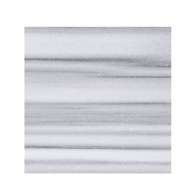 Horizon Marble 18 x 18 Stone  Tile in White Polished