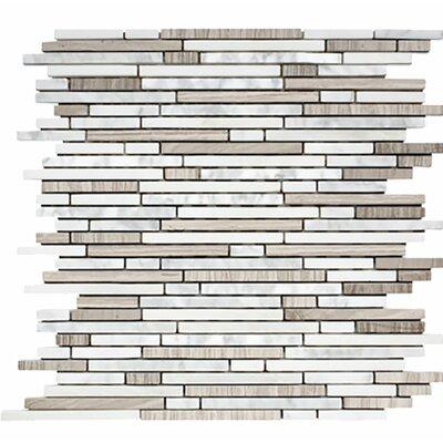 Corona Random Strips Random Sized Stone Mosaic Tile