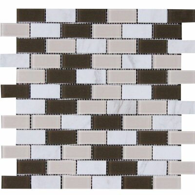 Fremont 1 x 2 Glass Mosaic Tile