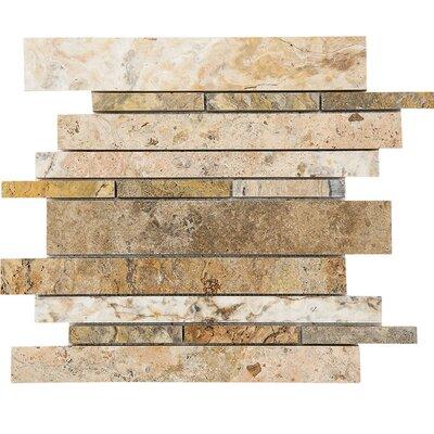 Scabos Metro Random Sized Stone Mosaic Tile