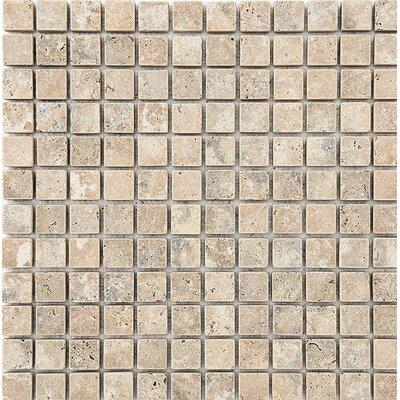 Philadelphia Mosaic 1 x 1 Stone Mosaic Tile Tumbled