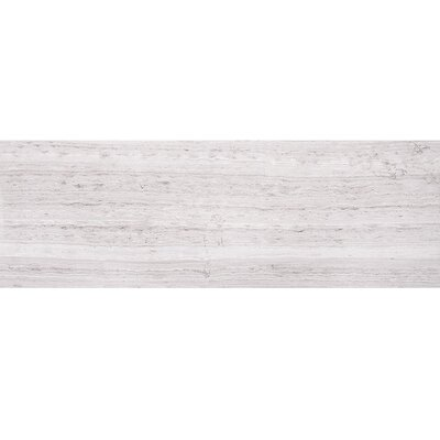 Wood Grain 8 x 24 Marble Field Tile in Gray