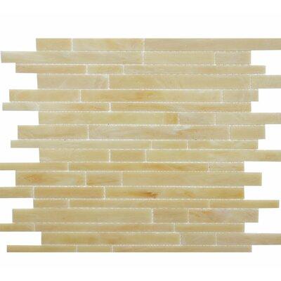 Barstow Random Random Sized Glass Mosaic Tile