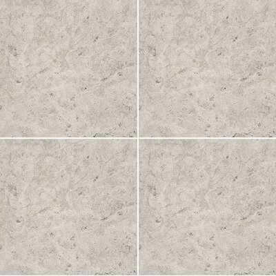 12 x 12 Marble Field Tile in Gray