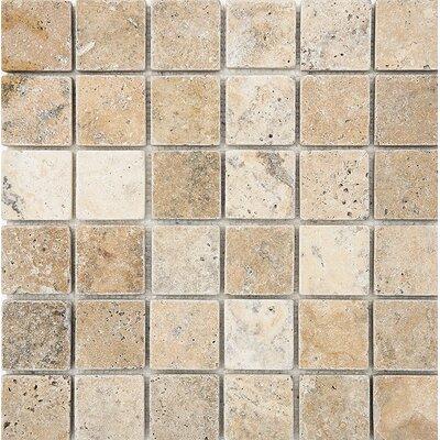 Philadelphia Mosaic 2 x 2 Stone Mosaic Tile Tumbled