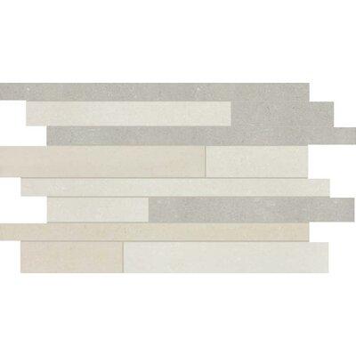 Random Sized Mosaic Tile in Polished Sand