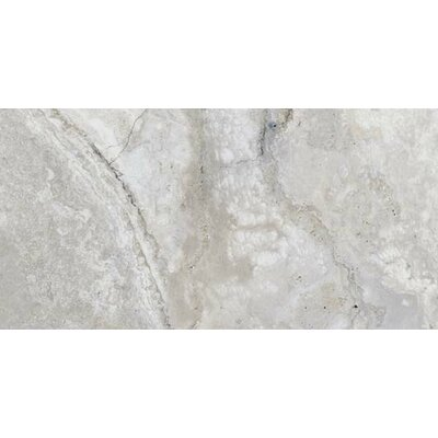 Montana 12 x 24 Porcelain Field Tile in Silver