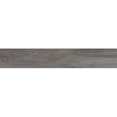 Centennial Arbor 6 x 36 Porcelain Wood Look Tile in Graphite