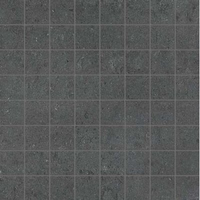 1.5 x 1.5 Porcelain Mosaic Tile in Matte Pebble
