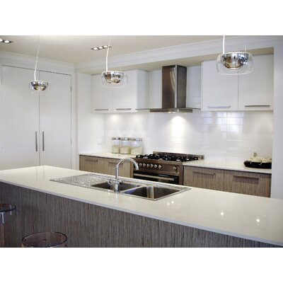 Sail 4 x 16 Ceramic Tile in Glossy White