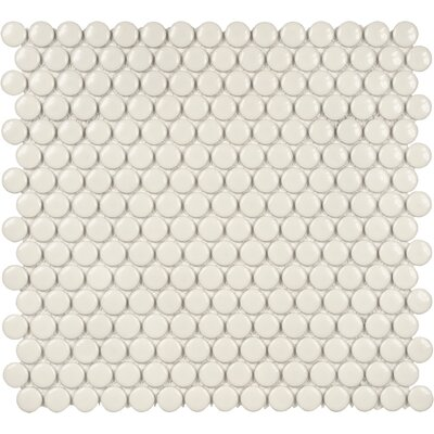 Sail 0.75 x 0.75 Ceramic/Porcelain Mosaic Tile in Biscotti