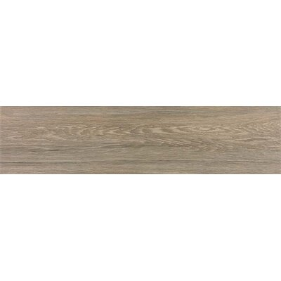 Vanderbilt 6 x 36 Porcelain Wood Look Tile in Brown