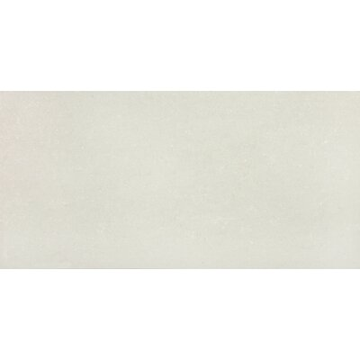 6 x 12 Porcelain Field Cove Base Tile Trim in Matte Snow