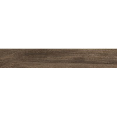 Centennial Arbor 6 x 24 Porcelain Wood Look Tile in Brown