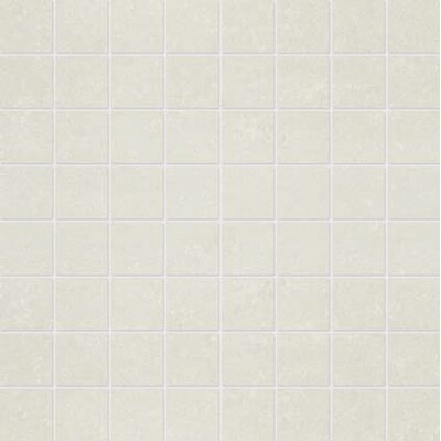1.5 x 1.5 Porcelain Mosaic Tile in Matte Snow