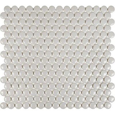 Sail 0.75 x 0.75 Ceramic/Porcelain Mosaic Tile in Porpoise