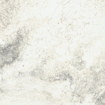 Baroque 18 x 18 Porcelain Field Tile in Vanilla