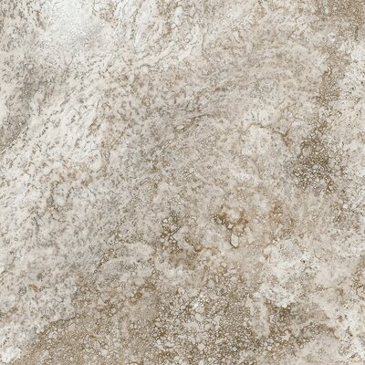 Baroque 12 x 12 Porcelain Field Tile in Brown