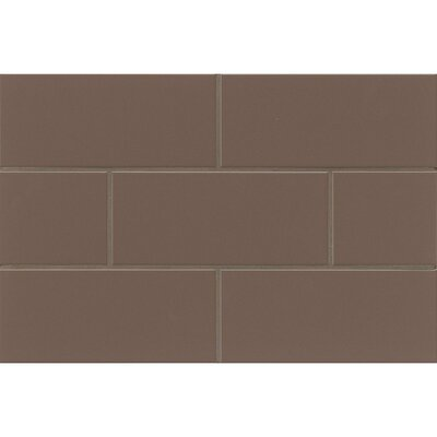 Nantucket 4.25 x 10 Ceramic Subway Tile in Matte Sea Otter