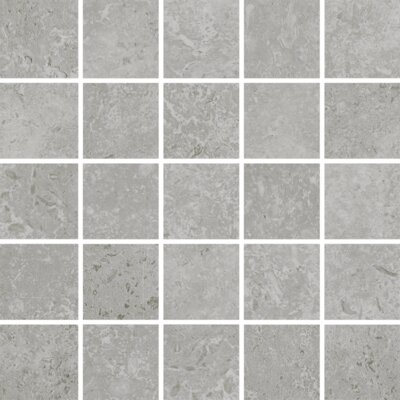 Kent 2 W x 2 Porcelain Mosaic Tile in Warm Gray