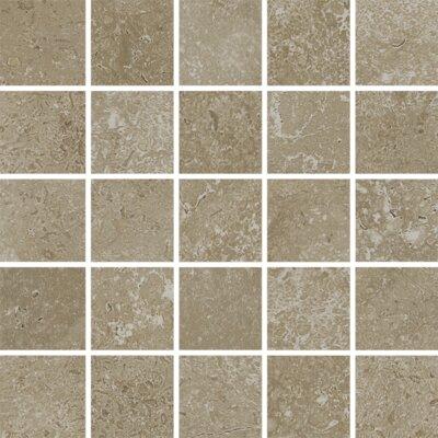 Kent 2 W x 2 Porcelain Mosaic Tile in Pale Beige