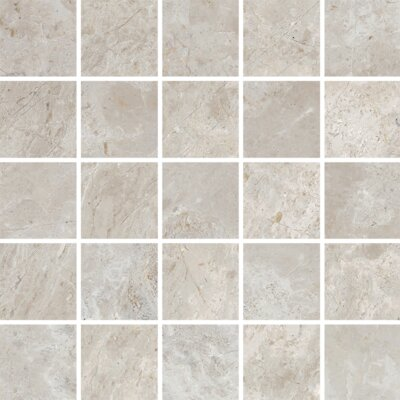 Peyton 2 W x 2 Porcelain Mosaic Tile in Cool Gray