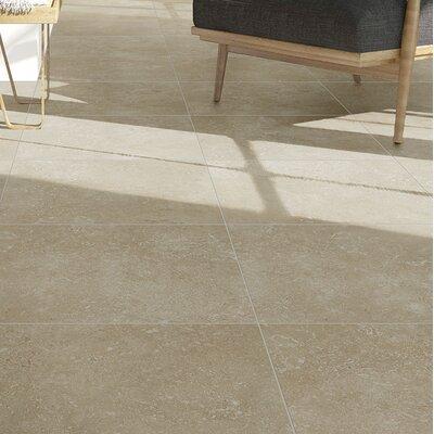 Kent 18 W x 18 Porcelain Field Tile in Pale Beige