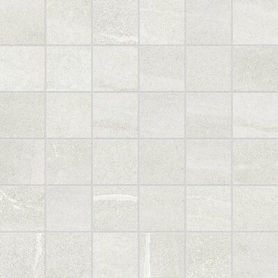 Core 12 x 12 Porcelain Mosaic Tile in Vanilla