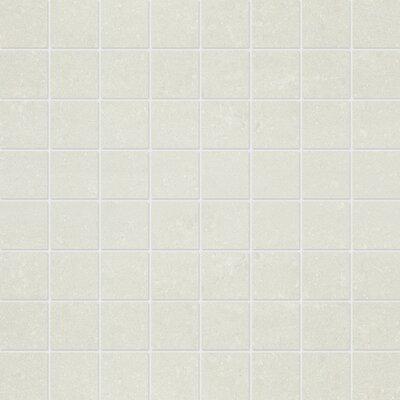 1.5 x 1.5 Porcelain Mosaic Tile in Matte Snow
