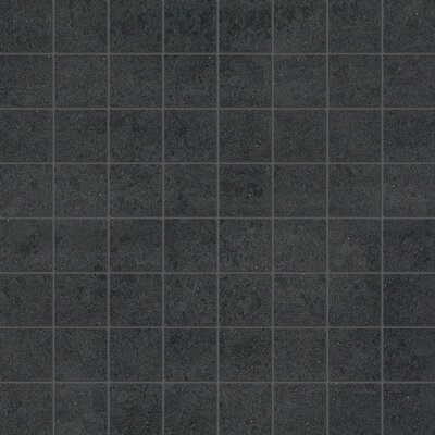 1.5 x 1.5 Porcelain Mosaic Tile in Matte Shadow
