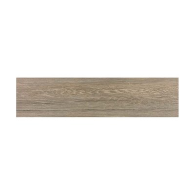 Vanderbilt 6 x 24 Porcelain Wood Look Tile in Brown