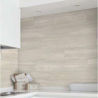 Vanderbilt 6 x 36 Porcelain Wood look Tile in Sand