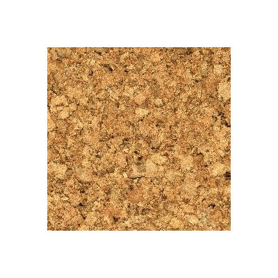 "11-7/8"" Cork Hardwood Flooring In Small Pebbles"