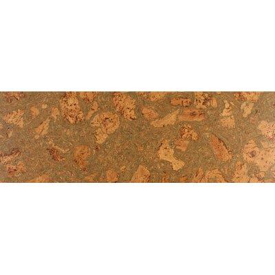 12 Swirl Tiles Cork Flooring in Grass
