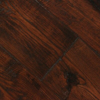 Farmhouse 7-1/2 Engineered Hickory Hardwood Flooring in Hacienda