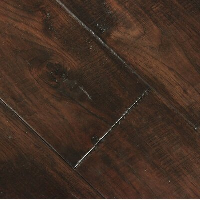 Farmhouse 7-1/2 Engineered Hickory Hardwood Flooring in Black Forest