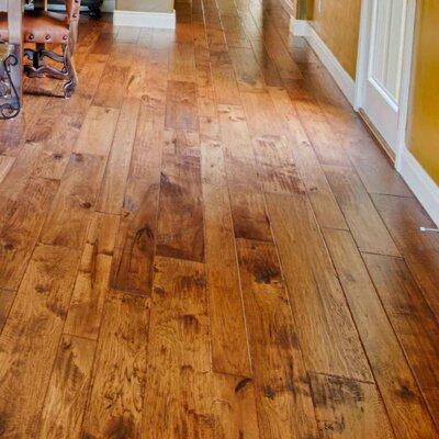 Hudson Bay Random Width Engineered Hickory Hardwood Flooring in Victoria