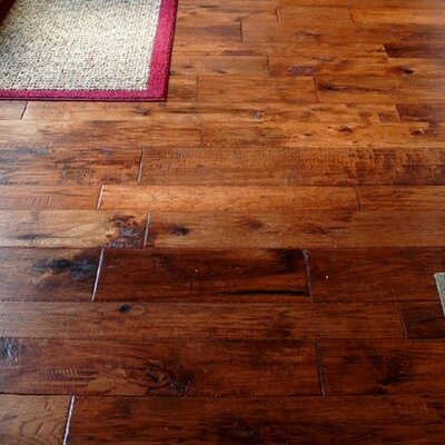 Hudson Bay Random Width Engineered Hickory Hardwood Flooring in Yukon